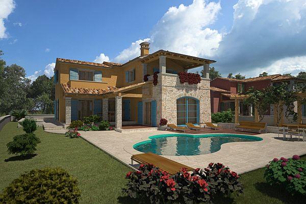 Construction neuve immobiliers vendre 4 chambres villa for Acheter une maison en croatie