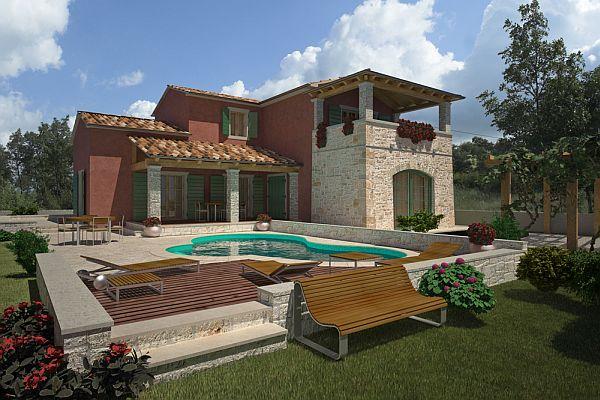 Nuove costruzioni Immobiliari in Vendita 3 Camere da letto Ville-Case in vendita in Kaldanija ...